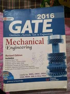GATE 2016 -Mechanical Engineering