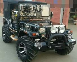 Modified army Willy jeep