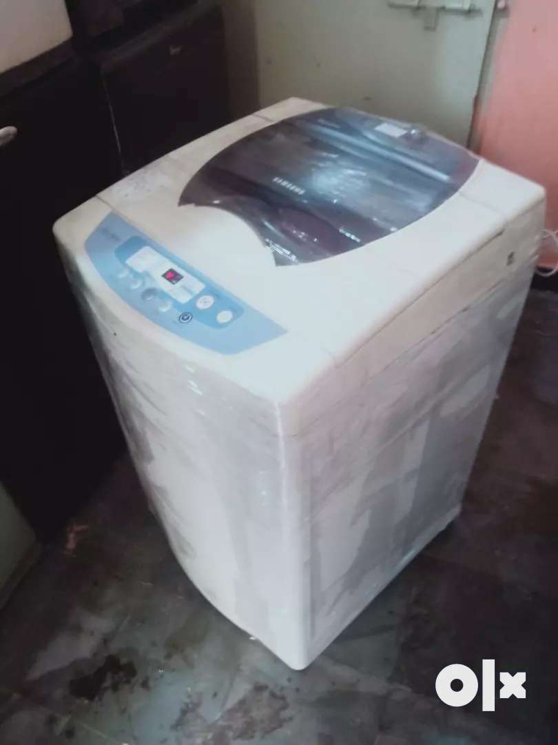 Samsung Silver nano fully automatic washing machine 0