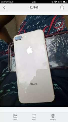 Apple iphone 8 plus super  condition