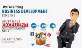Female business development executive