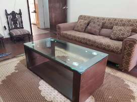 Central table made by imported Wood