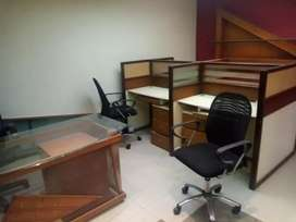 Furnished office for rent in main shamsheer stadium comm