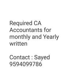 CA Accountants GSTR monthly