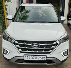 Hyundai Creta 2018 SX Sunroof Automatic Diesel 31000 Km Driven