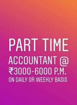 Part time experienced accountant required
