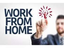 Capital letters hand writing home besed job