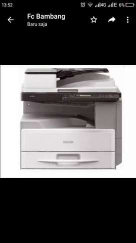JUAL dan RENTAL mesin fotocopy di jamin 100% baru,garansi 1th.