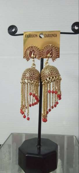 Traditional jhumkas free delivery cod available