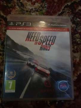 PS3 CD NFS RIVALS