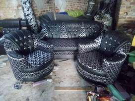 3+1+1 Egg model brand new sofa set