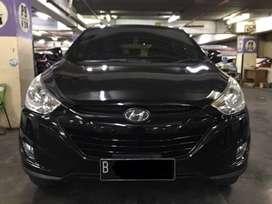 Hyundai Tucson Low Km 60rban Tipe GLS Thn 2012 Hitam AT Matic
