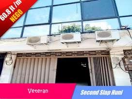 Ruko Second Siap Pakai! Lokasi Strategis Pusat Kota di Jalan Veteran