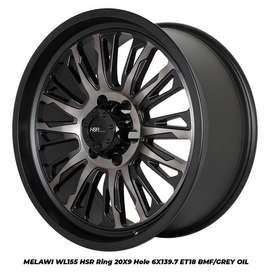 Velg Mobil Pajero ring 20 HSR bisa dicicil ditoko Velg Viral Autozone