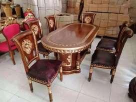 kursi meja makan set jati harga terjangkau 0013