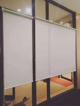 kreasi gorden horizontal vertikal roll blind elegan 80
