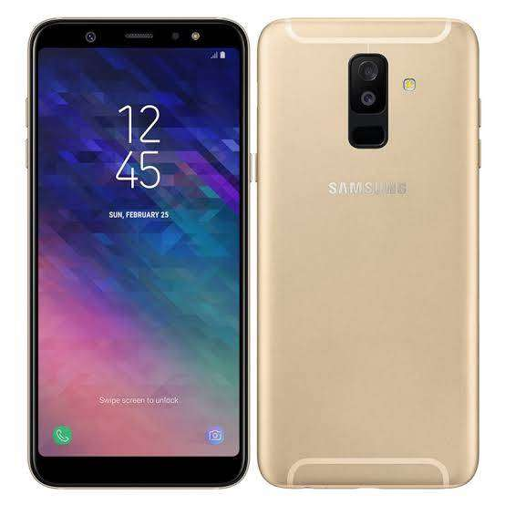 Samsung galaxy A6 plus new mobile 0