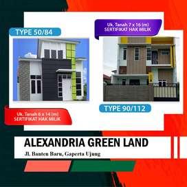 Rumah lokasi strategis Alexandria Green Land