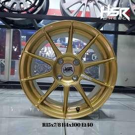 Velg Racing Mobil KIA Pincato Ring 15 HSR LEBAR 7/8 HSR POOL