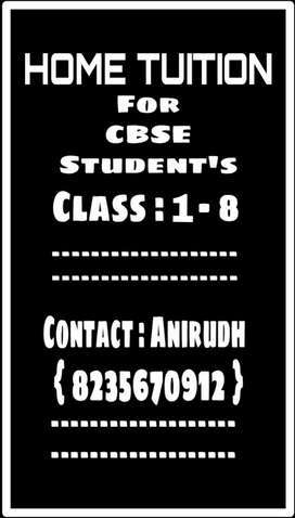 Contact for Home tuition for your child