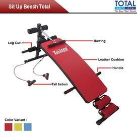 Alat Fitness - Alat Olahraga Murah - New Sit Up Bench