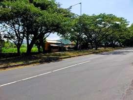 tanah di jalan utama ida bagus mantra klungkung,cocok untuk gudang,dll