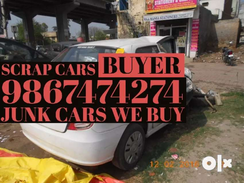 dead. any  SCRAP car Buyers 0