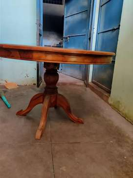 Dining table solid teak wood