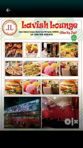 I want a waiter now at kurnool with accommodation