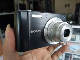 SONY 20MP 5X Dsc W800 Mulus Lengkap Kamera Digital Camera Poket Pocket