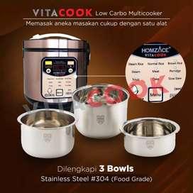 Vitacook Rice cooker rendah gula Dan karbohidrat