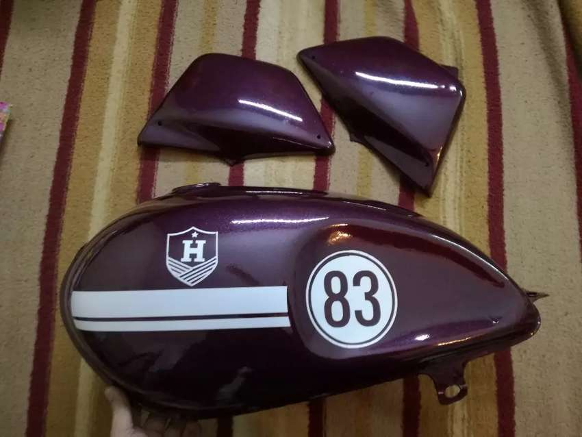 Gs 150 cafe racer style tank and side covers 0