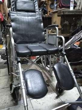 kursi roda bekas 3in1 rem tangan bisa tidur bab kaki slonjor 1,2 jt