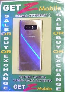 Samsung Galaxy Note 8  Mapple Gold
