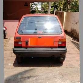 Maruti Suzuki 800 1986