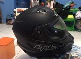 Helm MDS hitam doff like new terawat