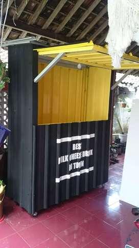 Booth Gerobak Container Murah Yogya 7
