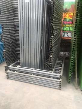 Scaffolding galvanis ready