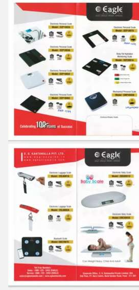 All types of digital personal weighing scale