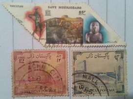 Very unique Pakistani Stamps