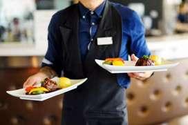 Waiter in a restaurant