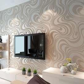 Tampilkan kesempurnaan wallpaper dinding nuansa elegan minimalis