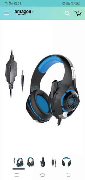 Kotion Each GS410 Headphones with Mic and for PS4, Xbox One etc..