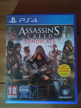 Kaset BD PS4 Assassin's Creed Syndicate