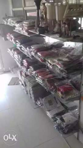 Garment new stock of kids nd women including dummy both sale