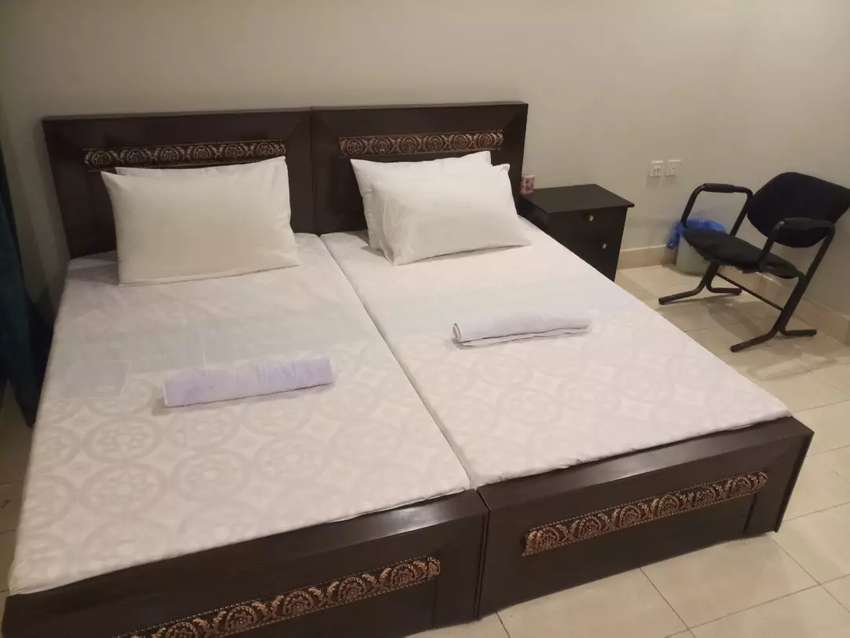 HOTEL short stay 2495& Night 3900 & luxury  bed rooms weekly 18000