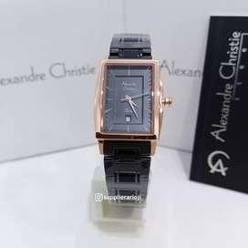 Jam Tangan Wanita Alexandre Christie AC2802 Original
