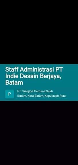 Butuh Karyawan Administrasi