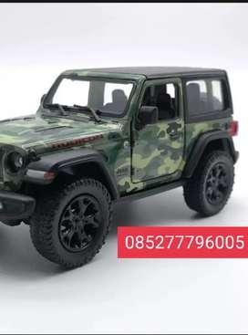 Jeep wrangler mobil bahan metal