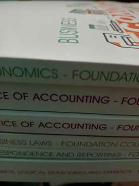 CA Foundation books